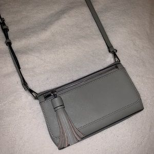 Grey Rebecca Minkoff Purse •mint condition•